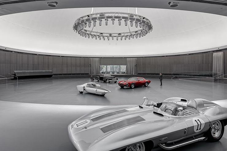 General Motors Design Dome Restoration Usa Architectural