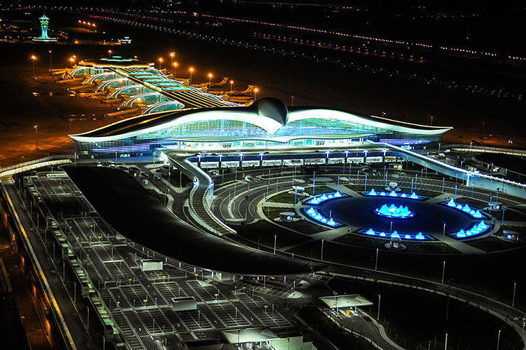 Ashgabat International Airport Terminal Turkmenistan