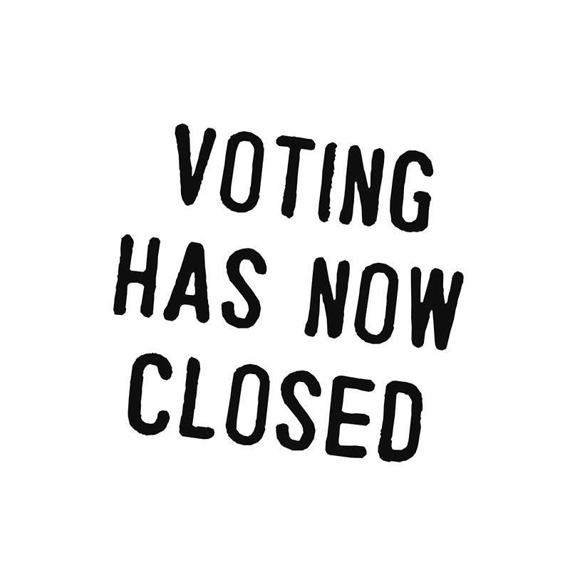 vote has now closed