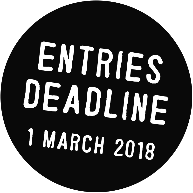 entries deadline 1st march 2018