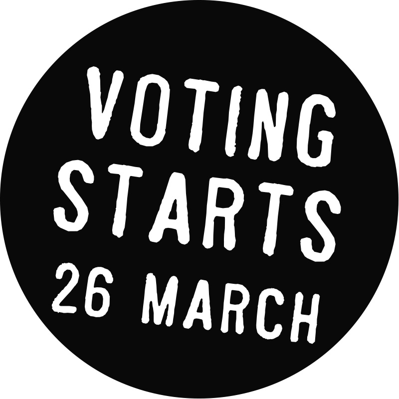 voting starts 26th march 2018