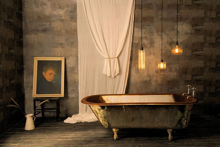 Alchemist IP44 Triple Bathroom Cluster U2013 The Light Yard / Gwyn Carless  Designs