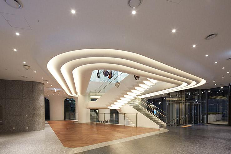 Nike abc mart grand stage seoul korea oculus light studio