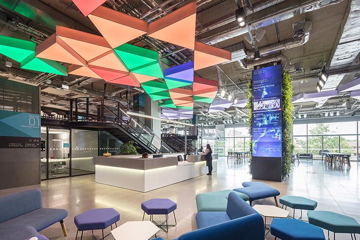 Plexal: Technology Innovation Centre, UK | decorative