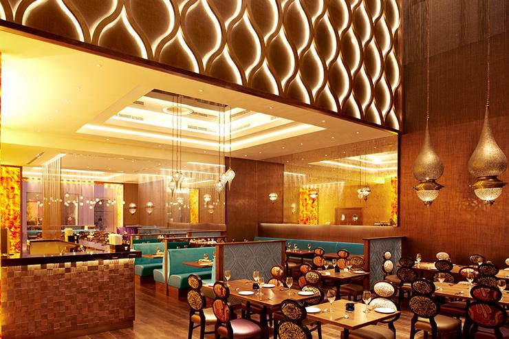 Asha S Restaurant Bahrain Decorative